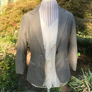 CAbi blouse and blazer. Two for one.